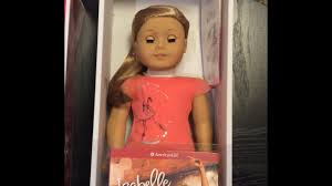 opening american doll isabelle of the year 2016