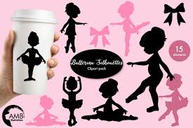ballerina silhouettes clipart graphics ilrations amb 1584 exle image 1