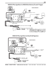 msd ignition wiring diagrams installation instructions · msd 8 plus series to dual ignition coils · msd 8 plus series to msd crank trigger distributor