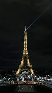 Places eiffel tower, paris, night city ...