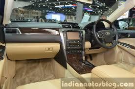 toyota camry 2015 interior. toyota camry hybrid interior at the 2015 bangkok motor show