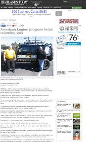 American Legion Program Helps Returning Vets Project Vet Relief