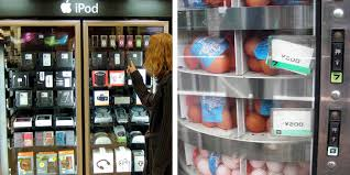Fun Vending Machines Interesting Vending Machines Experience Design In A Box Idsgn A Design Blog