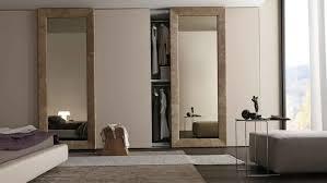 Mirror Closet Doors For Bedrooms Swinging Closet Doors Closet Ideas