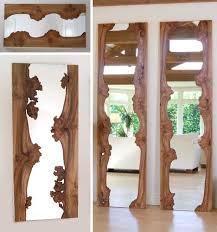 wood wall mirrors. Wonderful Wall Natural Wood Mirror Inside Wood Wall Mirrors O