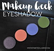 makeup geek eyeshadow review and swatches