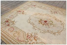 aubusson rug 9x12 vintage french decorl