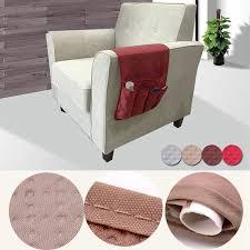 5 pocket remote control organizer sofa chair arm chair rest couch storage holder
