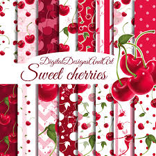 Cherry Pattern Cool Inspiration Design