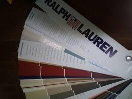 Ralph Lauren Paint Color Chart Fan Deck Sample Chips 2004