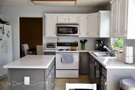painted kitchen cabinets with white appliances. Painted Kitchen Cabinets With White Appliances Contemporary