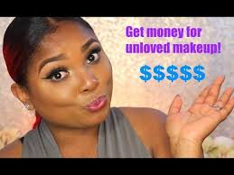 how to make money selling used makeup