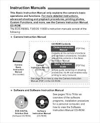 instruction manual template 10 free word pdf doents rh template net chilton s manuals diy diy repair manuals