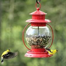 glass bird feeders red lantern wild bird feeder stained glass mosaic bird feeder