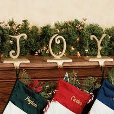 Accessories: Christmas Stocking Holders For Mantle - 7 - Stocking Holders  For Rounded Mantle