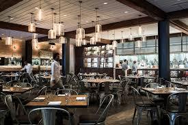 modern restaurant lighting. Modern Pendant Lighting Clusters At CBD Provisions Restaurant Niche