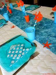 Une décoration de table sur le thème de Némo   Soirée pour les ...