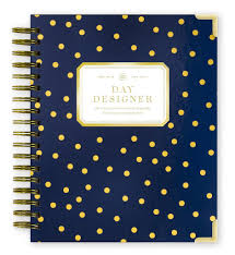 Day Designer The Strategic Planner And Daily Agenda Academic Year 2019 2020 Daily Planner Playful Polka Dot