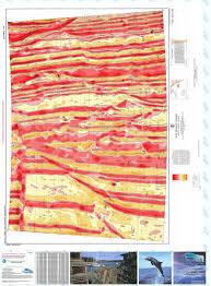 Ocean Pacific Size Chart Bathymetric Nautical Chart 13242 12m North Pacific Ocean