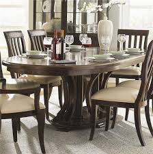 bernhardt westwood oval double pedestal dining table with leaves belfort furniture dining room table washington dc northern virginia maryland and