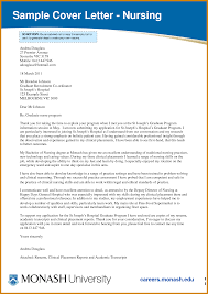 Nursing Cover Letter Samples For Jobs Tomyumtumweb Com