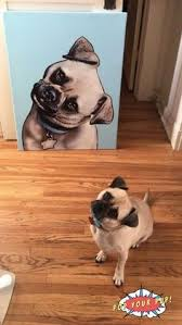 looking for the best pug gifts our custom artwork is the coolest piece of home