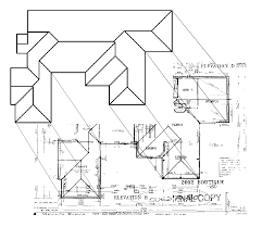 roof geometry & as you can see in 3d editing the pivot line House Plans Sloping Roof roof plan digitised for scanned plan or satellite image sloping roof house plans