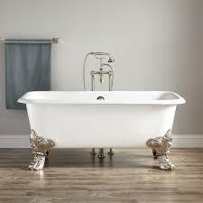 Xander Cast Iron Clawfoot Tub Bathroom - Clawfoot tub bathroom