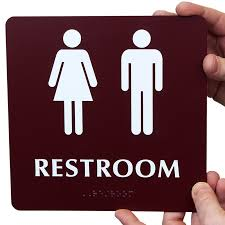 Unisex Restroom Signs Designer Unisex Bathroom Signs Extraordinary Unisex Bathroom Sign