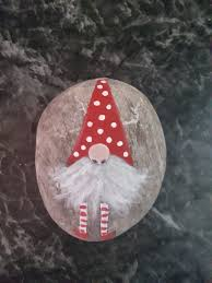 Pin by Melissa Blessington on Arts/Crafts   Rock crafts, Rock painting  designs, Christmas rock