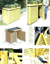 garbage can storage outdoor garbage storage box garbage storage shed garbage can storage outdoor