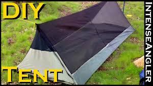 homemade ultra lightweight bivy tent for backng