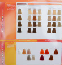 Colour Touch Colour Chart 23 Eye Catching Wella Color Touch Colors