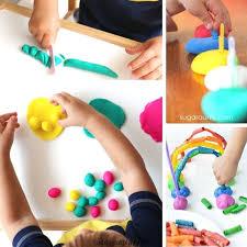 20 playdough activities to develop
