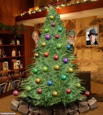 Direct image link: Cheech and Chong with a Marijuana Christmas Tree