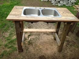 Outdoor Kitchen Sink Station Old Sinks For Garden Home Decor Contemporary Garden Planters Wall