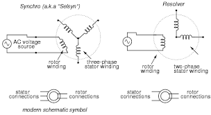 ac instrumentation transducers ac metering circuits synchro resolver theory at Resolver Wiring Diagram