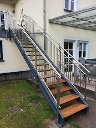 Eine sehr interessante treppenvariante ist die kombination zwischen holz und stahl im treppenbau. Aussen Innen Stahl Garten Wendel Treppen Metallbau In Saarland Oberthal Ebay Kleinanzeigen