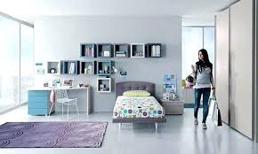 teen bedroom designs girls bedroom design with cubic wall shelves storage and decorating ideas teenage bedroom