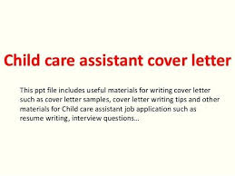 Childcare Cover Letter Examples Medical T For Child Care Resume Free