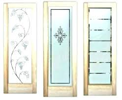 glass pantry door frosted front doors with double exterior etched