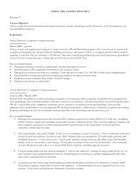 Objective Resume Example Administrative Objective Resume Example Of