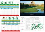Scorecard - Shawneeki Golf Club
