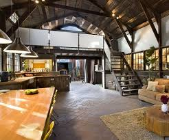 open space home office. old barn turned open floor plan living space love the idea of repurposing historic structures into a home office r