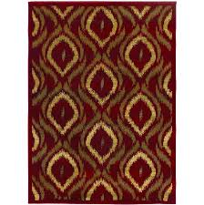 5 5 x 7 8 ikat rug only