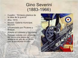 Resultado de imagen de Severini pintura