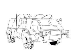 army vehicles coloring pages print truck trucks