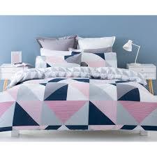 Jasper Reversible Quilt Cover Set - Single Bed   Kmart   GEOS ... & Jasper Reversible Quilt Cover Set - Single Bed   Kmart Adamdwight.com