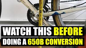 Watch This Before Doing A 650b Conversion