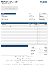 sample invice sample invoice templates